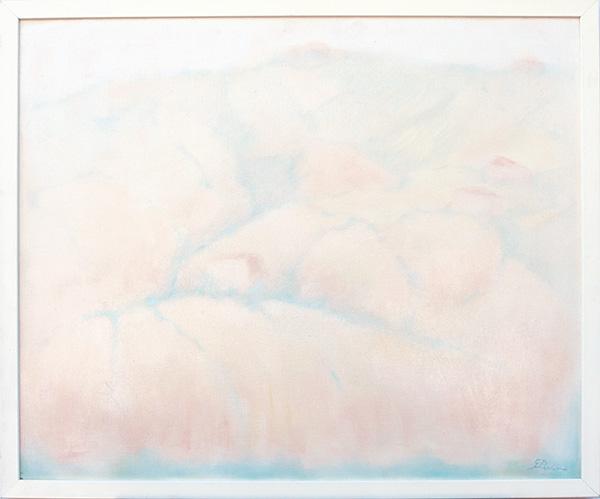 Colline a San Rocco - olio su tela 60x50