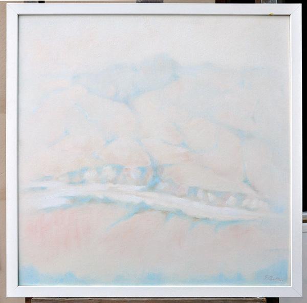 Senatello - Olio su tela 50x50