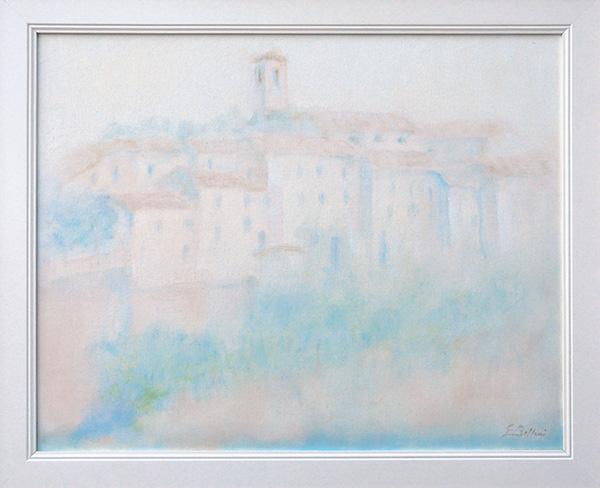 Casteldelci - Olio su tela 40x50
