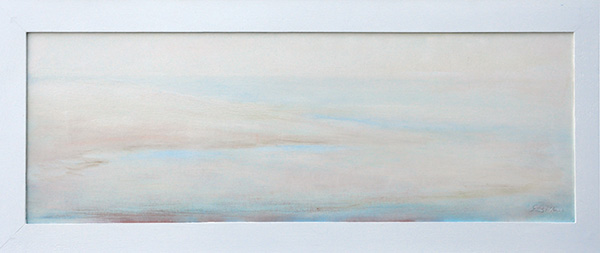 Marina - Olio su tela 25x70