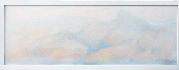 Verso San Marino - Olio su tela 25x70