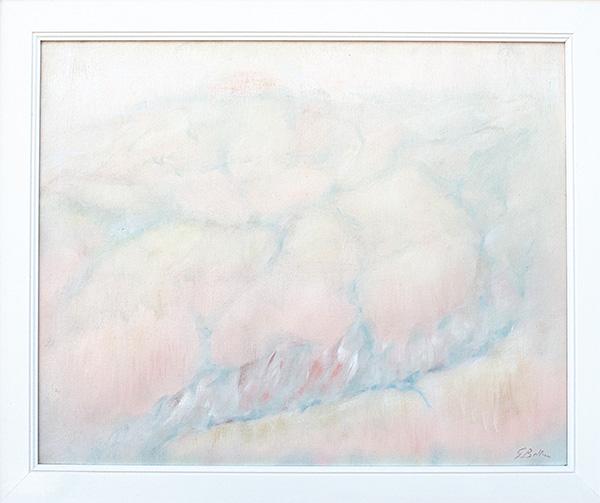 Calanchi sul Conca - Olio su tela 40x50
