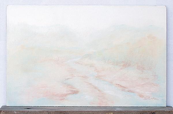 Il Conca - Olio su tela 40x25