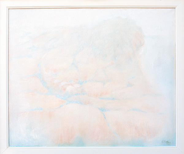 Paesaggio al Conero - Olio su tela 70x60