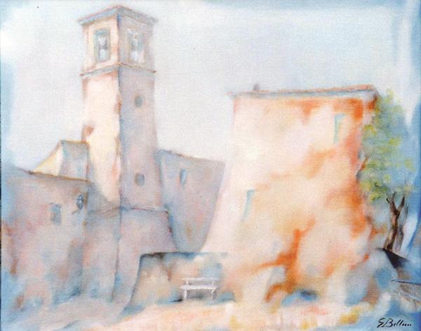 Sartiano - Olio su tela50x40