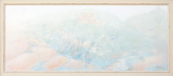 Valconca - Olio su tela 80x35