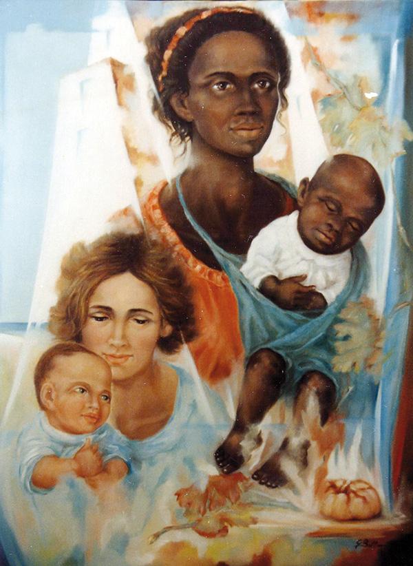 Valori diversità speranza - Olio su tela 60x80