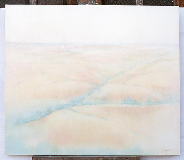 Verso l'Adriatico - Olio su tela 70x60