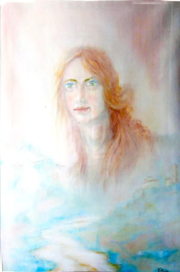 """""""La ragazza del fiume"""" - 45x70"""