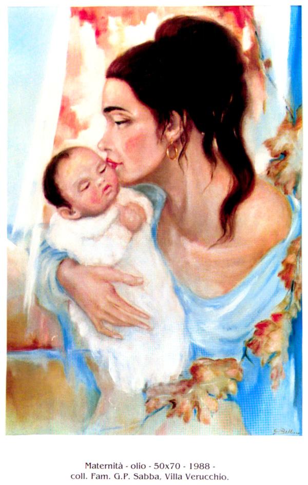 """""""Maternità"""" 50x70"""